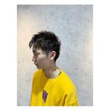 メンズショート メンズヘア アッシュ ナチュラル ヘアスタイルや髪型の写真・画像 | 角谷 崇 / hair  Cou Cou