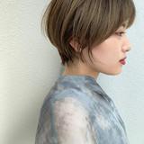 ショート ダブルカラー 大人かわいい ショートヘア ヘアスタイルや髪型の写真・画像
