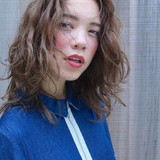 外国人風 フェミニン グラデーションカラー ロング ヘアスタイルや髪型の写真・画像