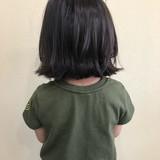 外ハネ 夏 ナチュラル ボブヘアスタイルや髪型の写真・画像