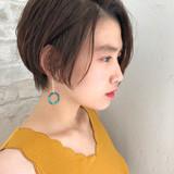 パーマ デート ヘアアレンジ ショート ヘアスタイルや髪型の写真・画像