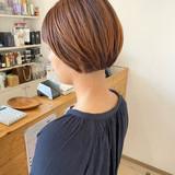 ベリーショート モード ミニボブ ショートボブ ヘアスタイルや髪型の写真・画像