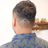 ツーブロック モード ショート 刈り上げ ヘアスタイルや髪型の写真・画像[エリア]