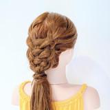 フェミニン ヘアアレンジ ヘアセット セルフヘアアレンジ ヘアスタイルや髪型の写真・画像 | 美容師HIRO/Amoute代表 / Amoute/アムティ