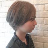 シルバーアッシュ ガーリー 外国人風 アッシュ ヘアスタイルや髪型の写真・画像