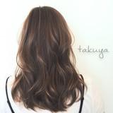 アッシュベージュ フェミニン ミディアム 色気 ヘアスタイルや髪型の写真・画像