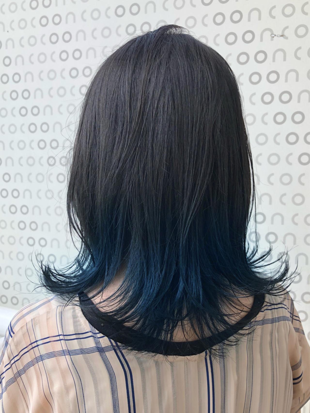 ブルー ストリート ミディアム スポーツヘアスタイルや髪型の写真・画像