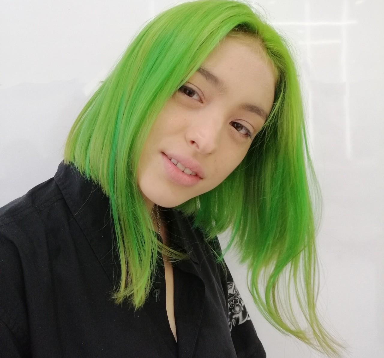 外国人風カラー ストリート ブリーチ ブリーチカラー ヘアスタイルや髪型の写真・画像   NAKOSHI SHUNICHI / TONI&GUY JAPAN 原宿
