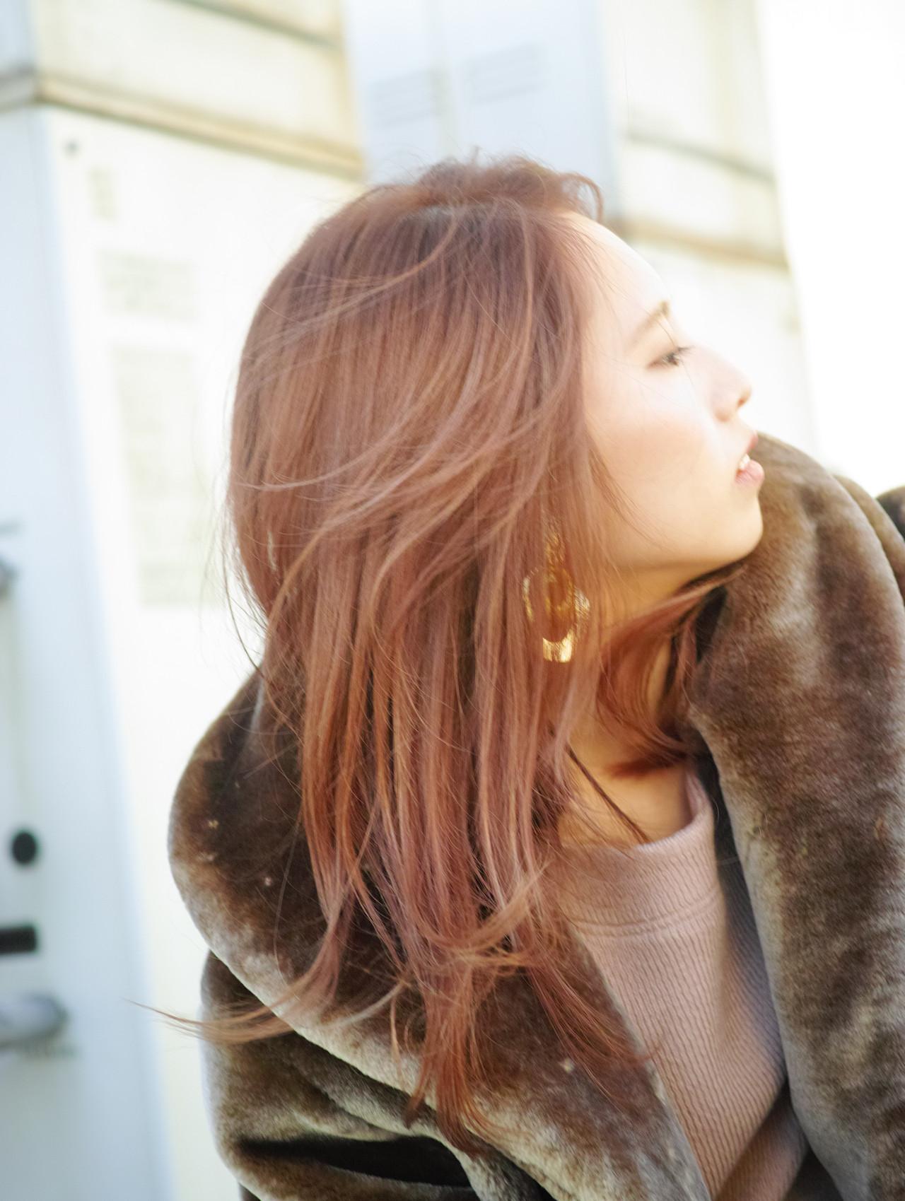 ロング 大学生 デート 簡単ヘアアレンジ ヘアスタイルや髪型の写真・画像 | カラーリスト・YuuKi Sekimoto / wherever