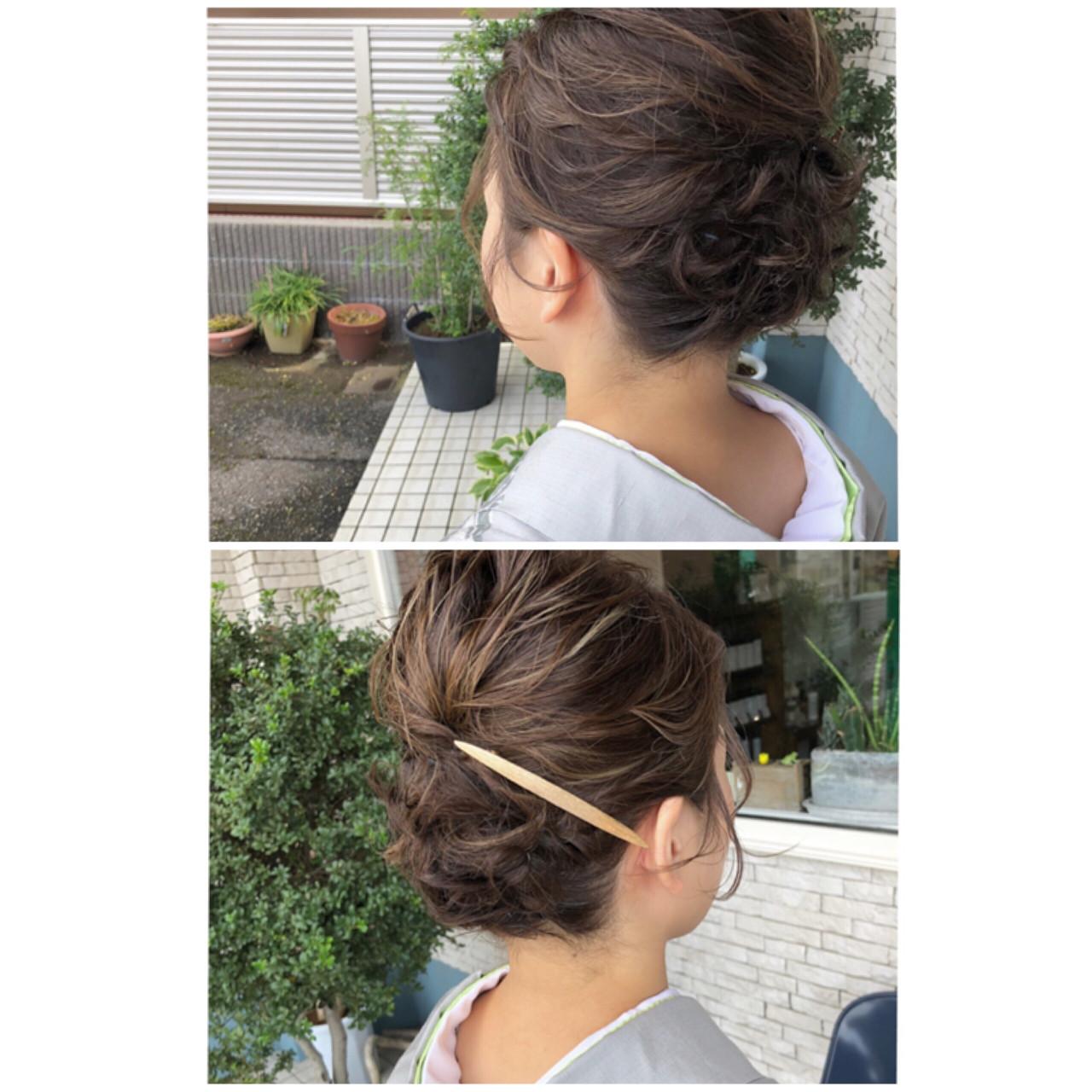 ナチュラル ショート 和装 ヘアスタイルや髪型の写真・画像   tsukasa / SOU HAIR