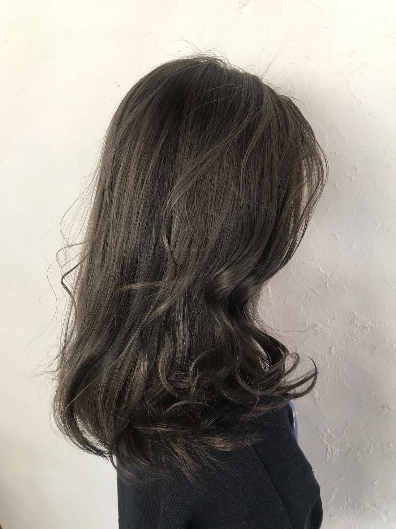 簡単ヘアアレンジ セミロング ヘアアレンジ デート ヘアスタイルや髪型の写真・画像 | YUUKI / RITA&CO.