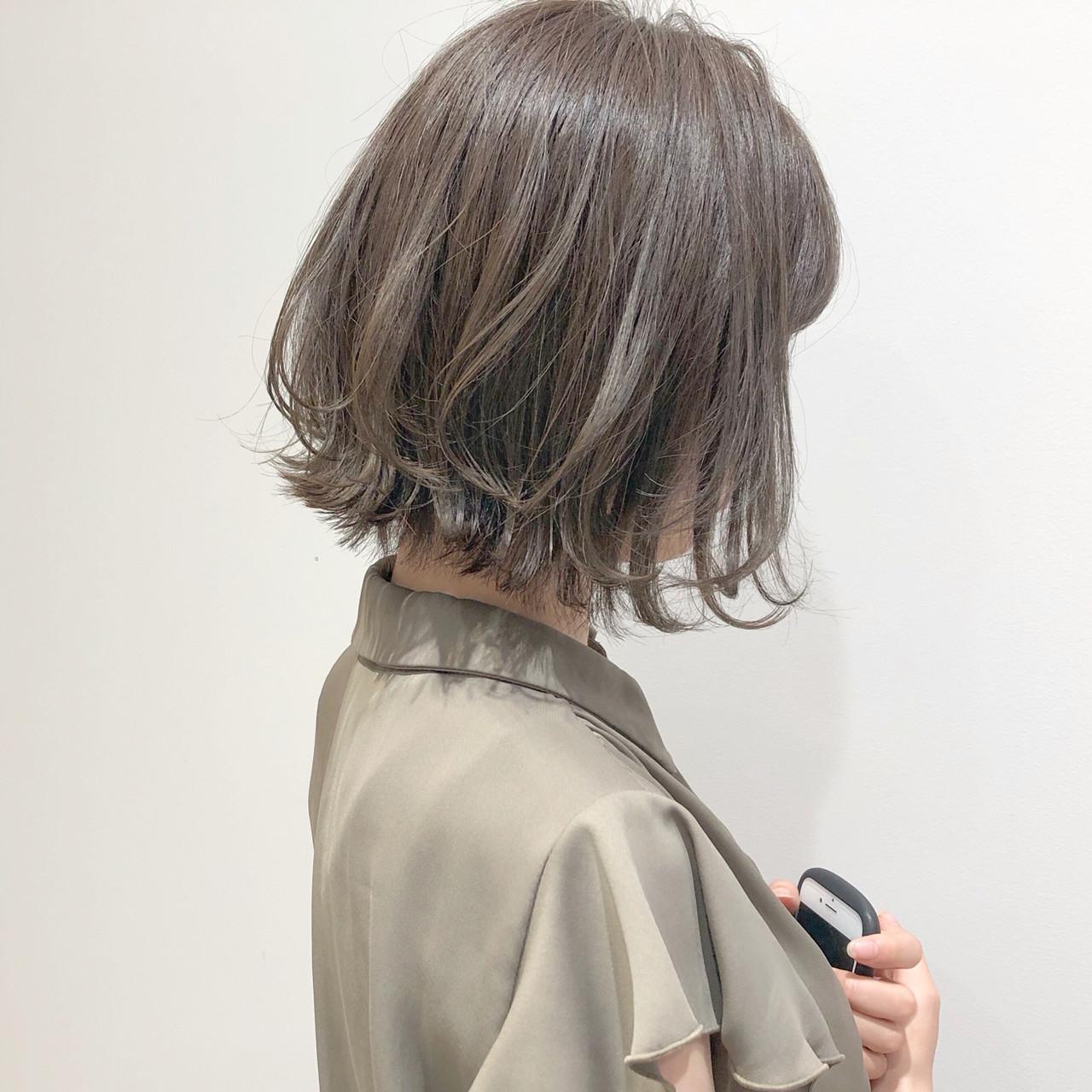 フェミニン 結婚式 デート ボブ ヘアスタイルや髪型の写真・画像 | 『ボブ美容師』永田邦彦 表参道 / send by HAIR