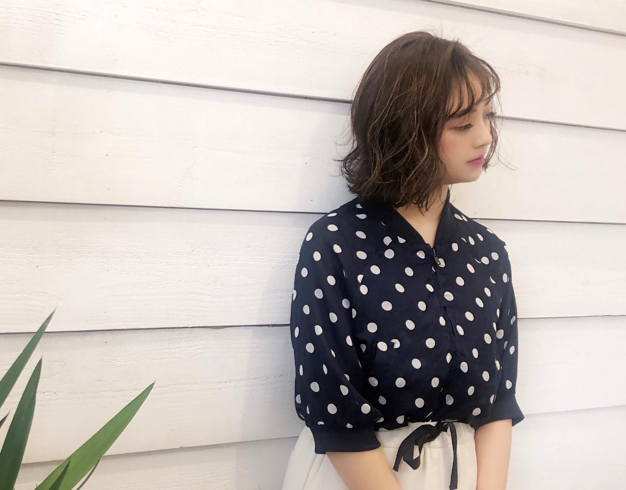ヘアアレンジ 外国人風 外国人風カラー 3Dカラー ヘアスタイルや髪型の写真・画像 | YUKA / NEWLINE