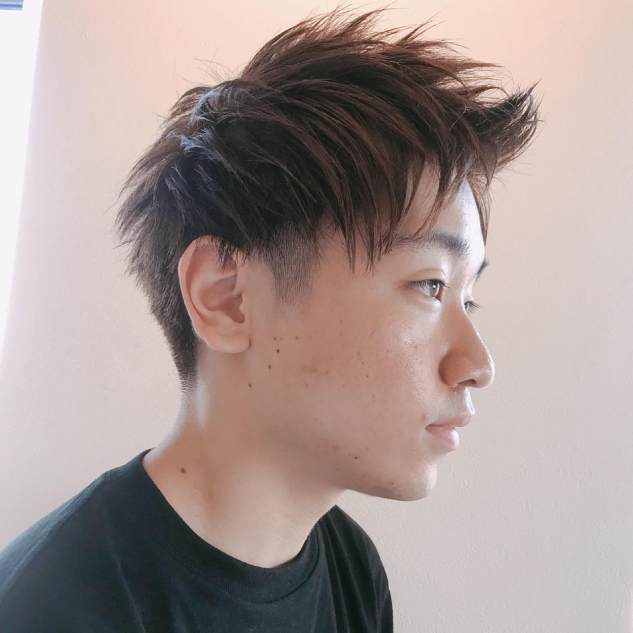 アウトドア デート 成人式 ショート ヘアスタイルや髪型の写真・画像 | 志賀 貴人 / 桜DECOティンプル