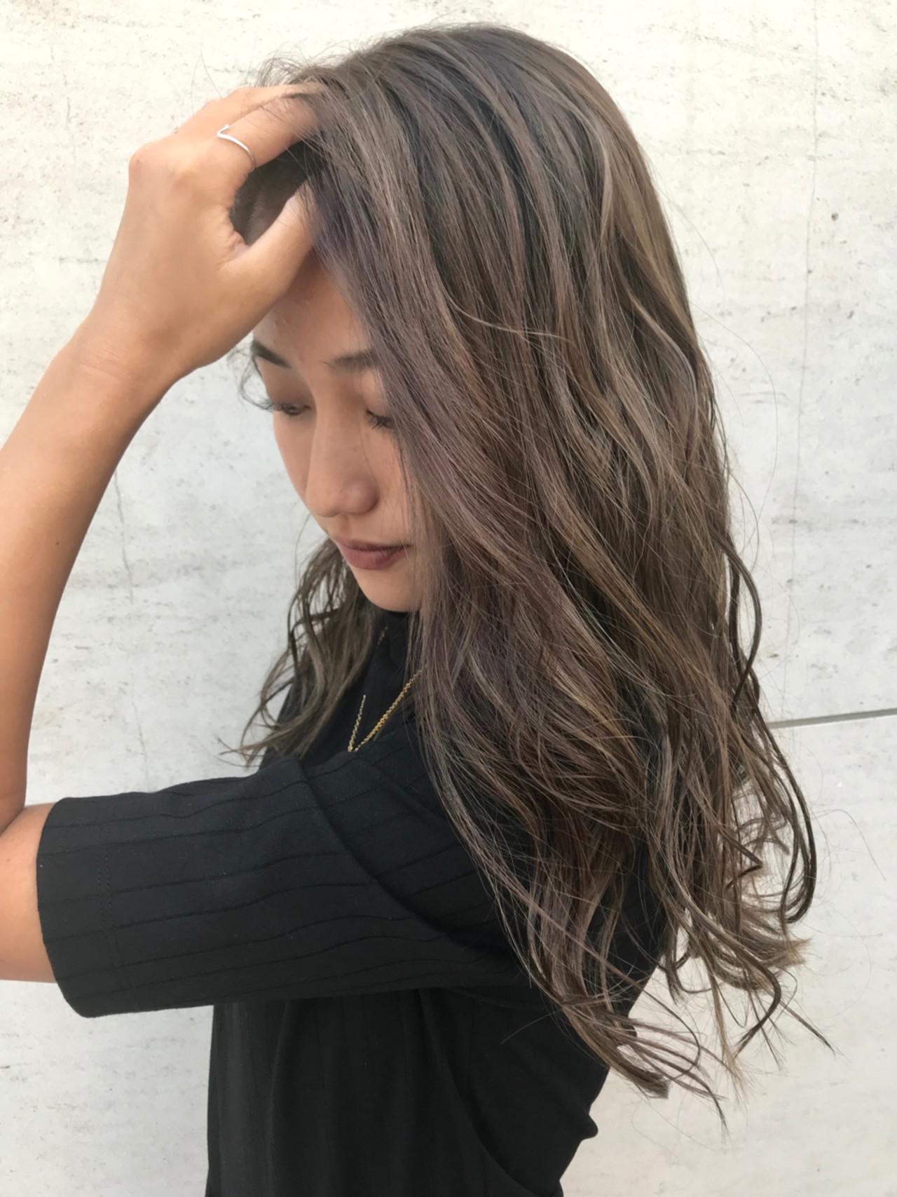 ハイトーン ハイライト 外国人風 アンニュイヘアスタイルや髪型の写真・画像