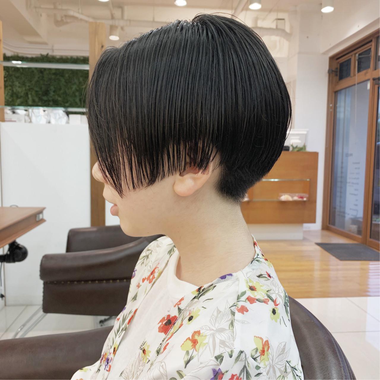 ナチュラル ショート ショートヘア 可愛い ヘアスタイルや髪型の写真・画像 | 【つくば美容師】ショートヘア愛好家/矢崎 翔太 / ジールサロン