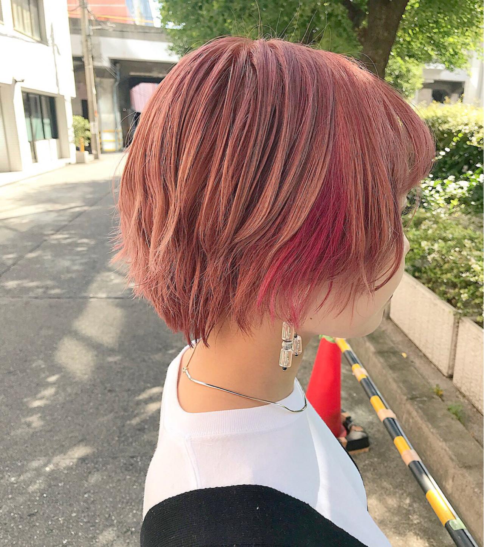 ショート ストリート 抜け感 モード ヘアスタイルや髪型の写真・画像   yoshiki / float 天神橋