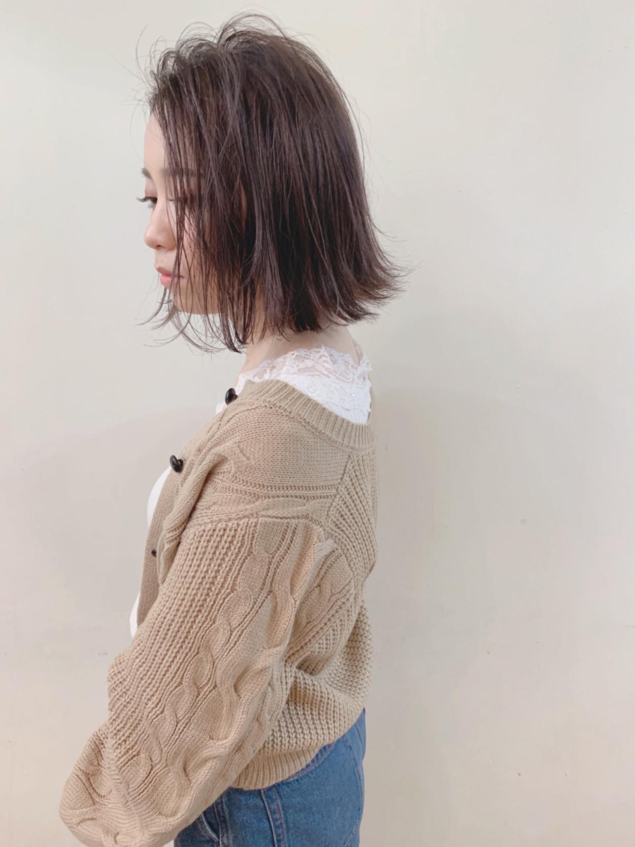 ナチュラル ハイライト 大人かわいい アンニュイほつれヘア ヘアスタイルや髪型の写真・画像   yumiko/sapporoSKNOW / SKNOW