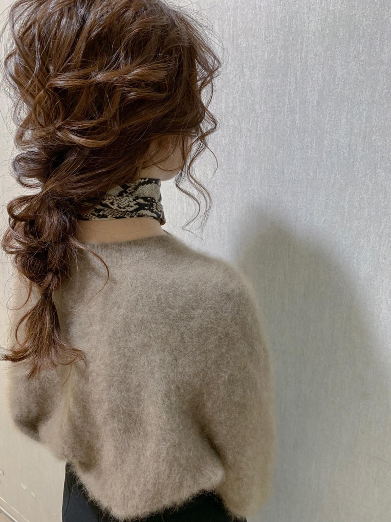 ヘアアレンジ 結婚式 簡単ヘアアレンジ ロング ヘアスタイルや髪型の写真・画像 | yumiko/sapporoSKNOW / SKNOW