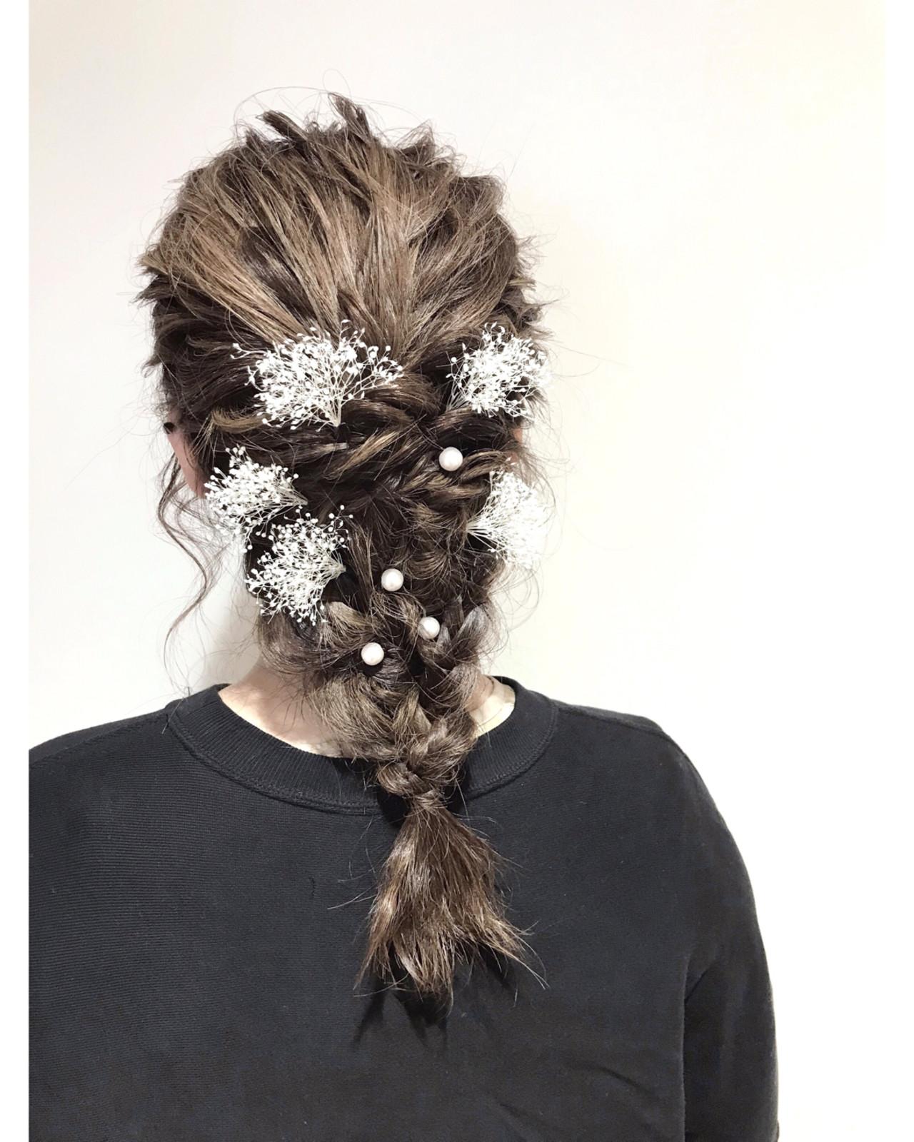 ナチュラル ミディアム 成人式 デート ヘアスタイルや髪型の写真・画像 | Lee innocence 宮本伸一(shin) / Lee innocence 西宮北口店