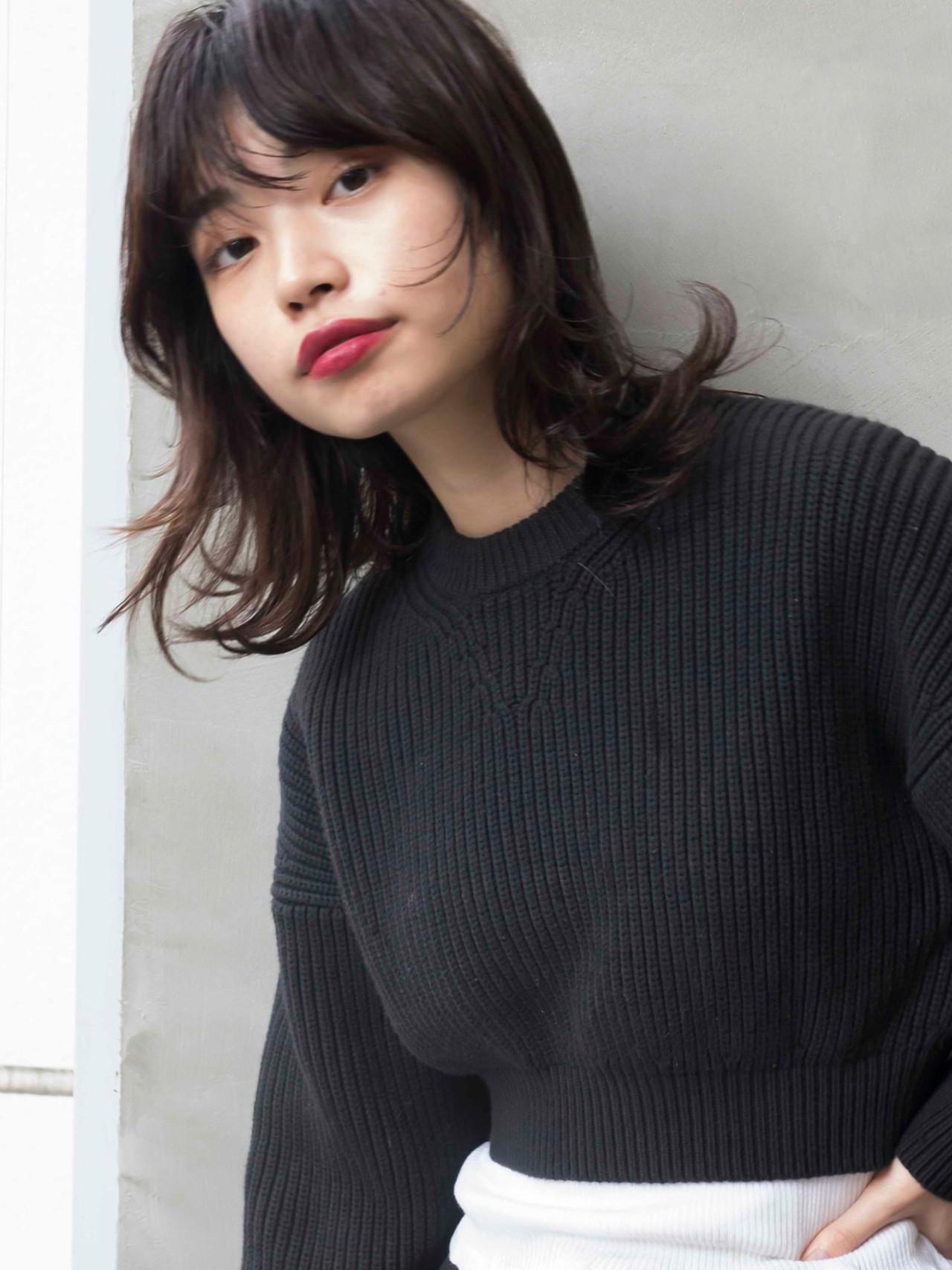 ウルフカット マッシュウルフ セミロング モード ヘアスタイルや髪型の写真・画像 | YORK / SUN(サン)渋谷