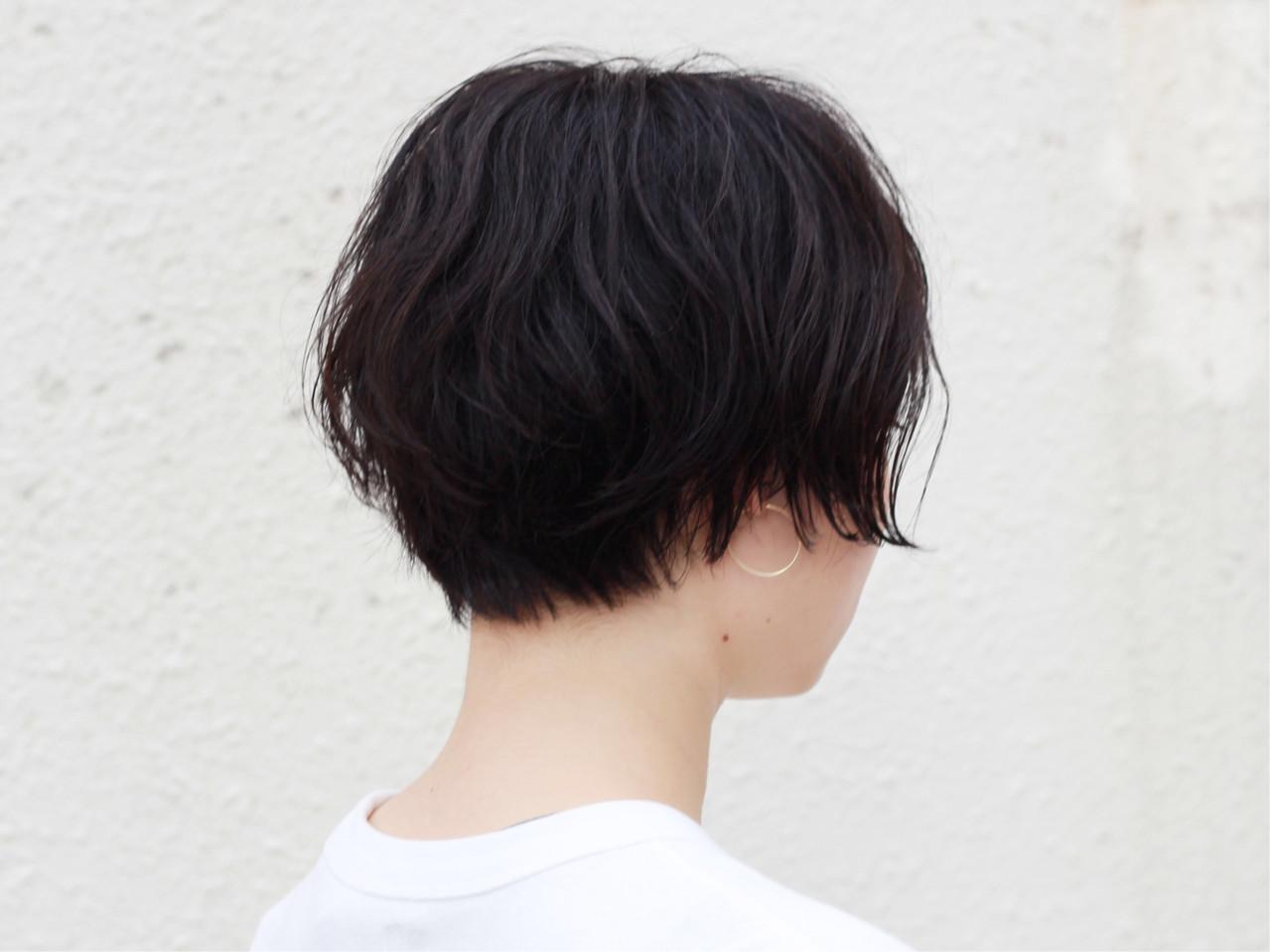 ショートボブ 無造作ヘア ショート 無造作 ヘアスタイルや髪型の写真・画像 | 元橋啓太 / snob