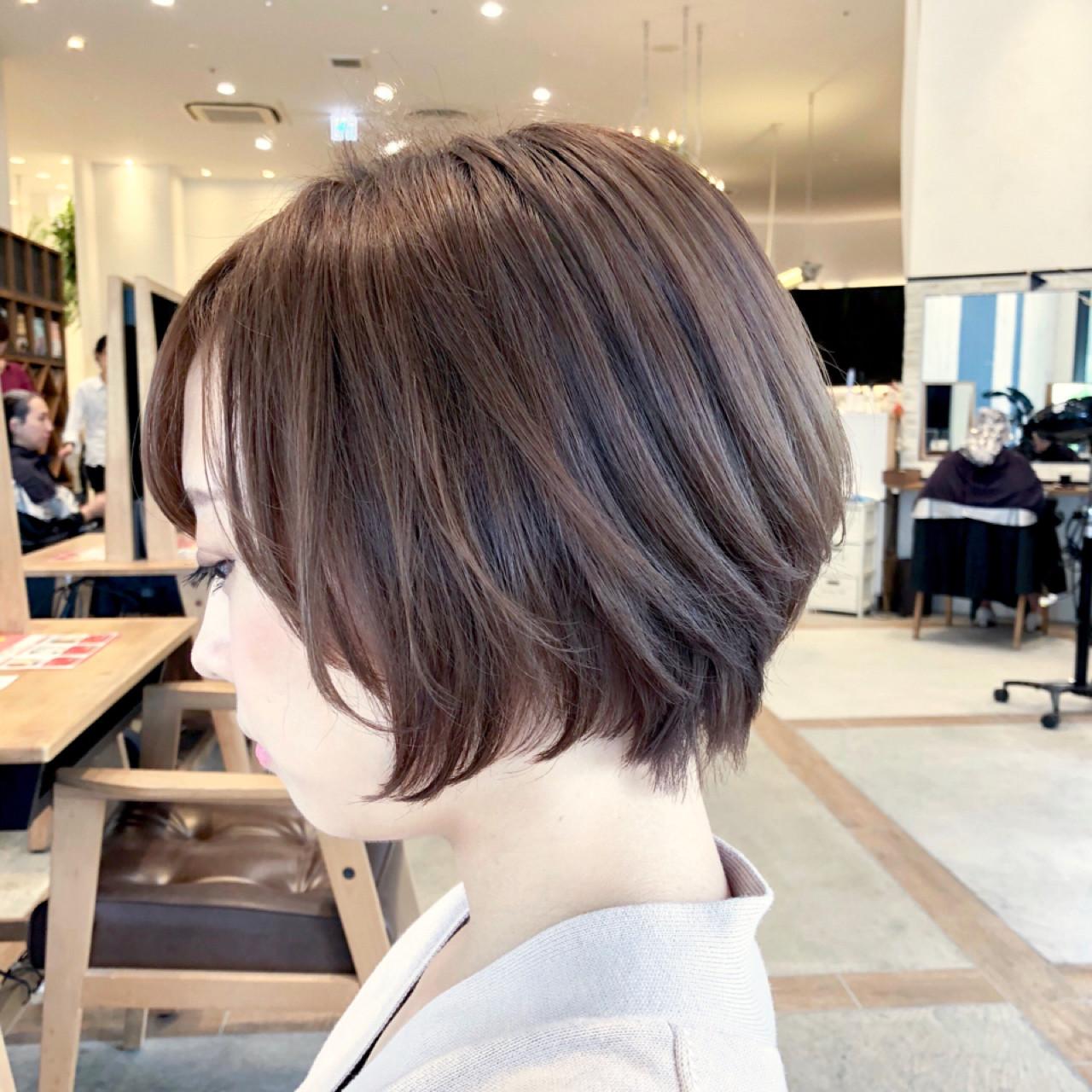 オフィス デート ナチュラル ヘアアレンジ ヘアスタイルや髪型の写真・画像 | お洒落ショート とかじしょうた GARDEN / NEUTRAL by GARDEN
