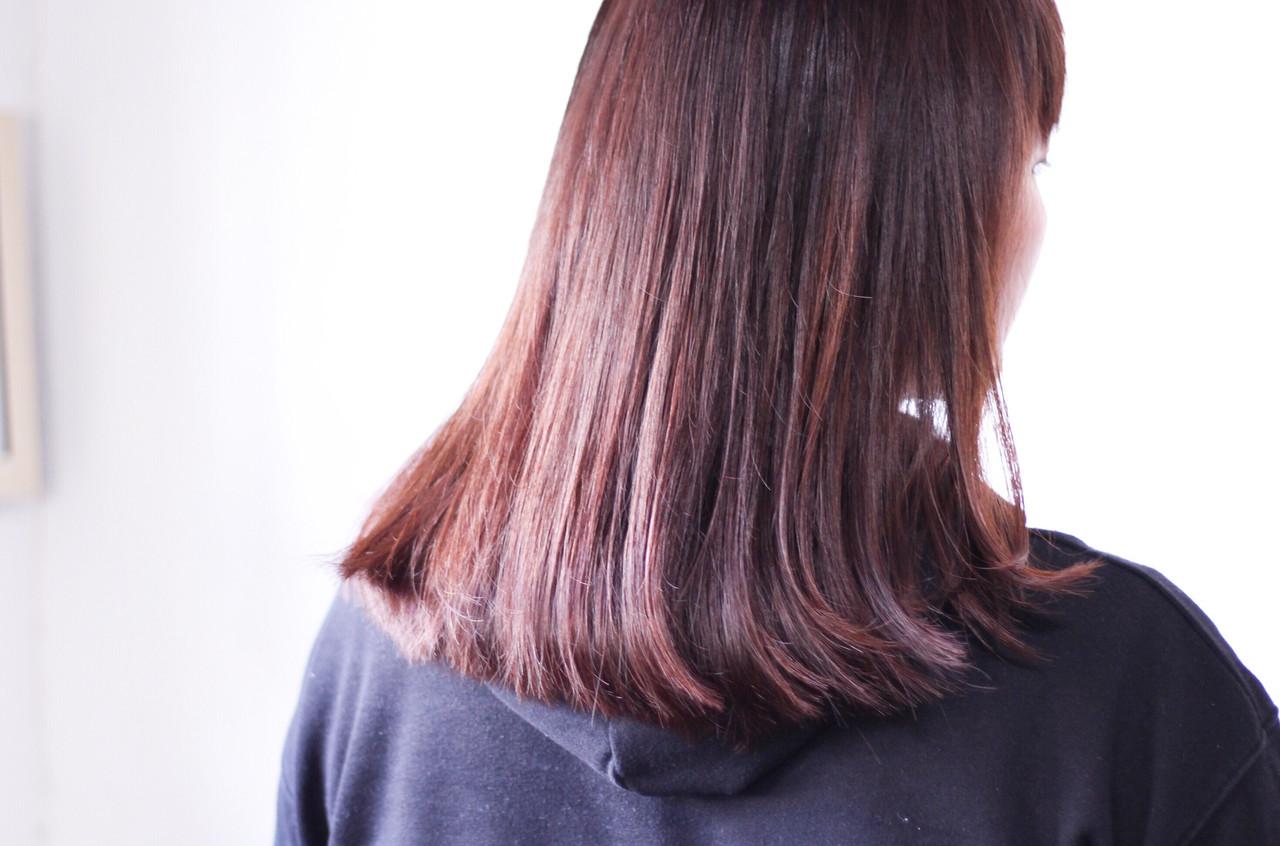 ナチュラル ピンク ラベンダーピンク ピンクアッシュ ヘアスタイルや髪型の写真・画像 | creap / creap