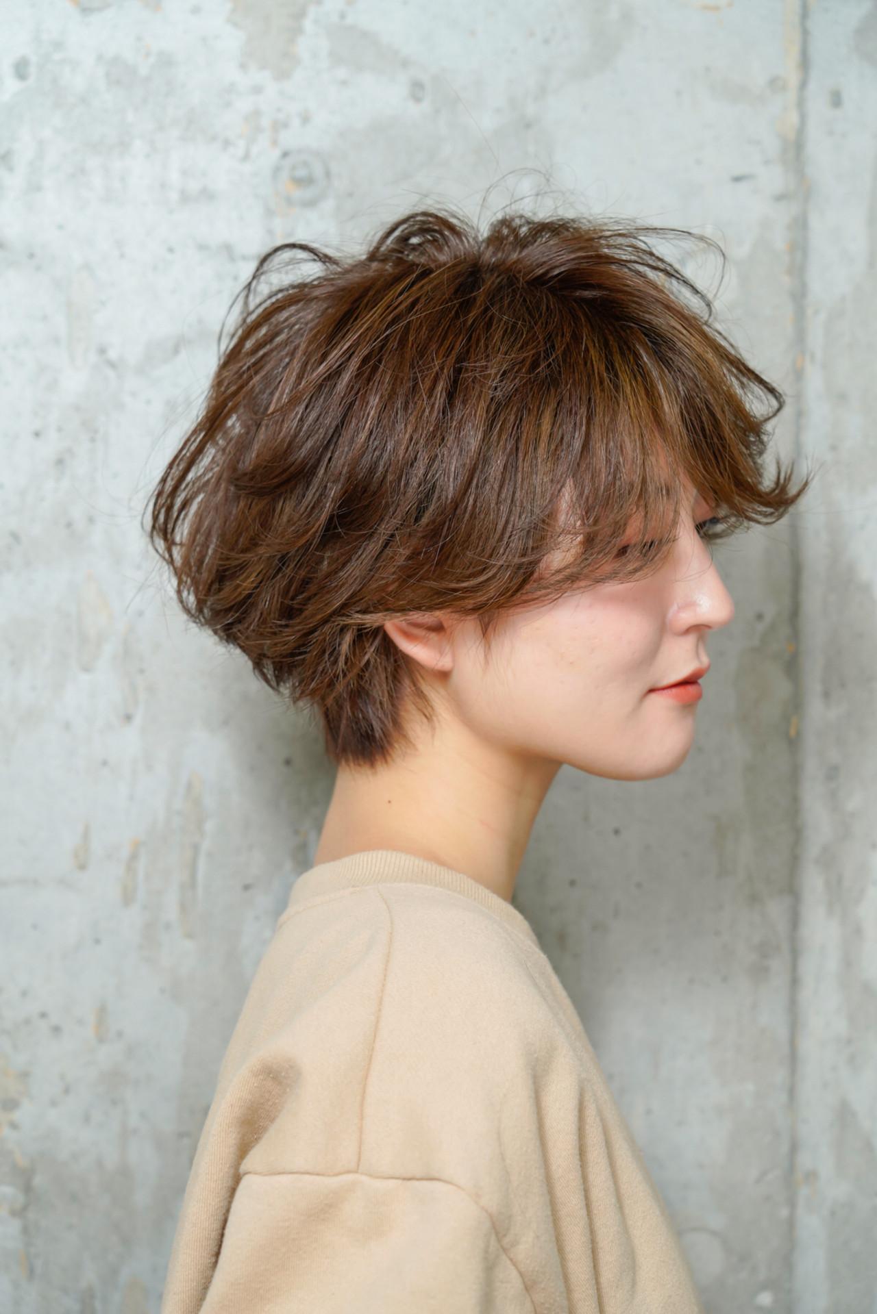 スポーツ アウトドア デート オフィスヘアスタイルや髪型の写真・画像