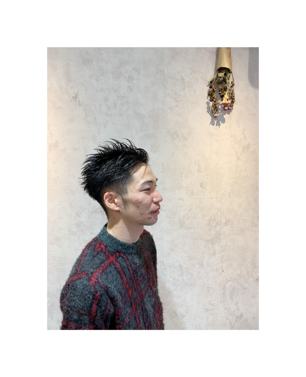 ナチュラル メンズヘア ショート メンズショート ヘアスタイルや髪型の写真・画像 | 角谷 崇 / hair  Cou Cou