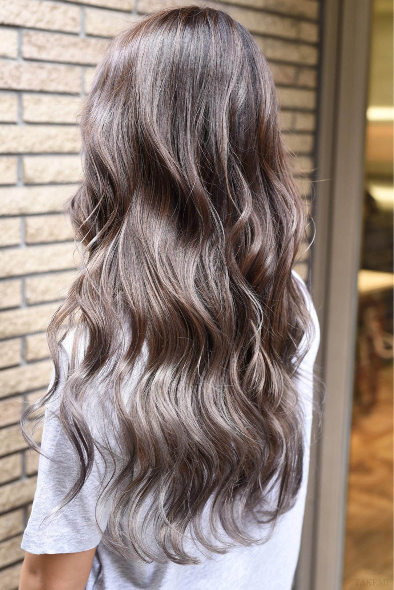 ガーリー ダブルカラー ロング 外国人風カラー ヘアスタイルや髪型の写真・画像 | TAKEMI / BEBE 表参道