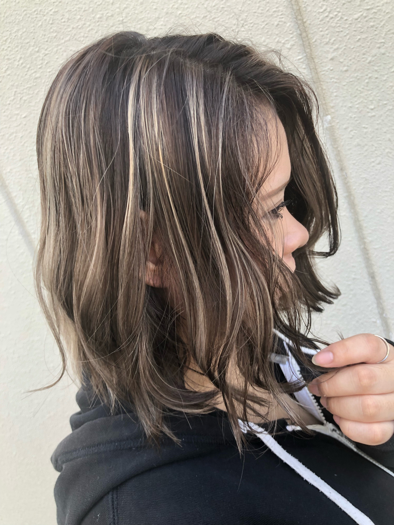 ボブ 外国人風カラー ハイライト グラデーションカラー ヘアスタイルや髪型の写真・画像 | 筒井 隆由 / Hair salon mode