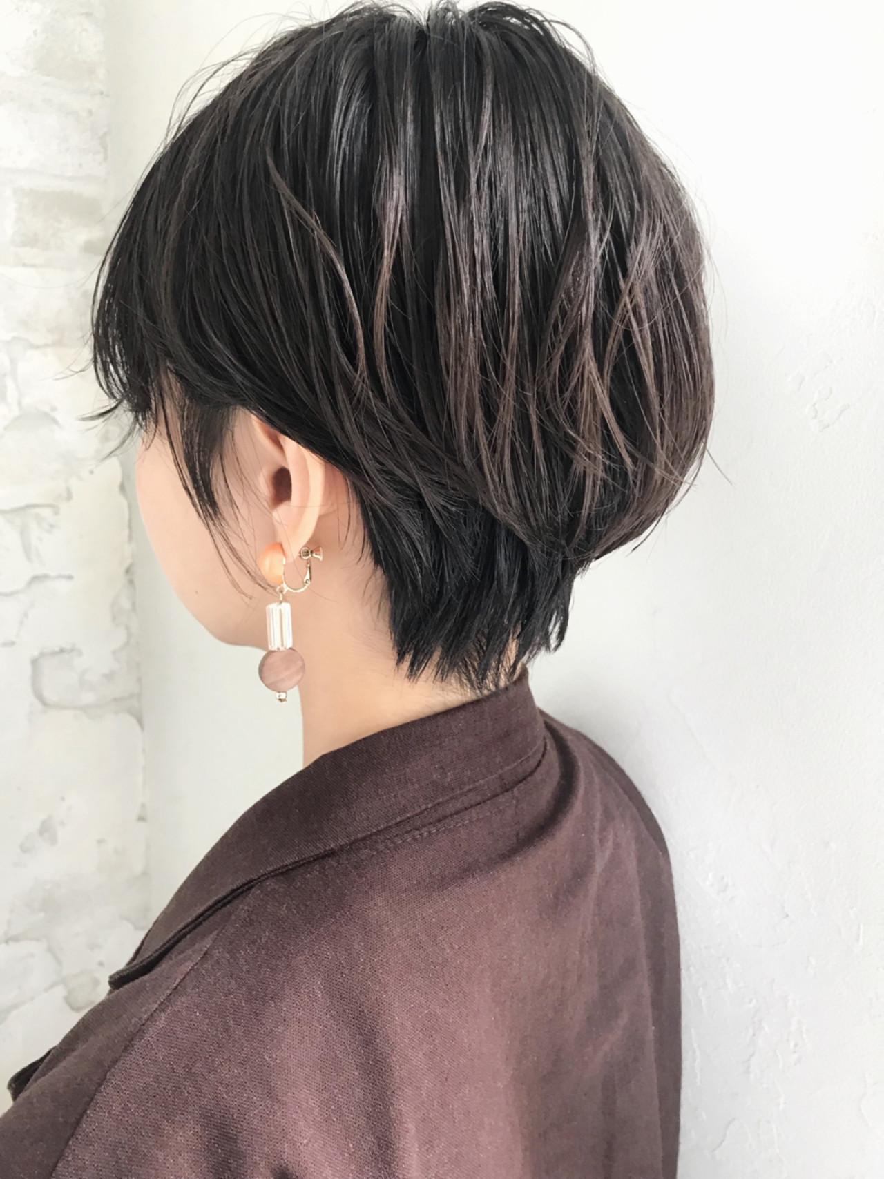 ゆるふわ ナチュラル ショート デート ヘアスタイルや髪型の写真・画像   信澤貴一【愛され大人可愛いヘア美容師】 / joemi by un ami