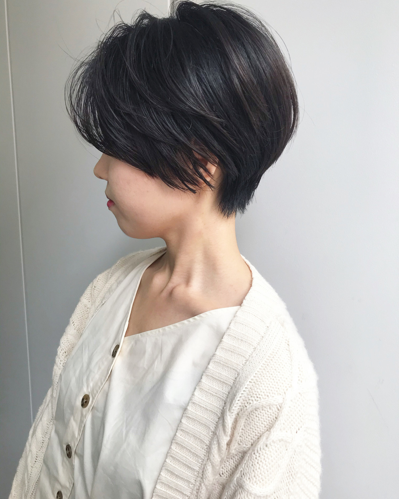 ナチュラル ショート ショートヘア デートヘアスタイルや髪型の写真・画像
