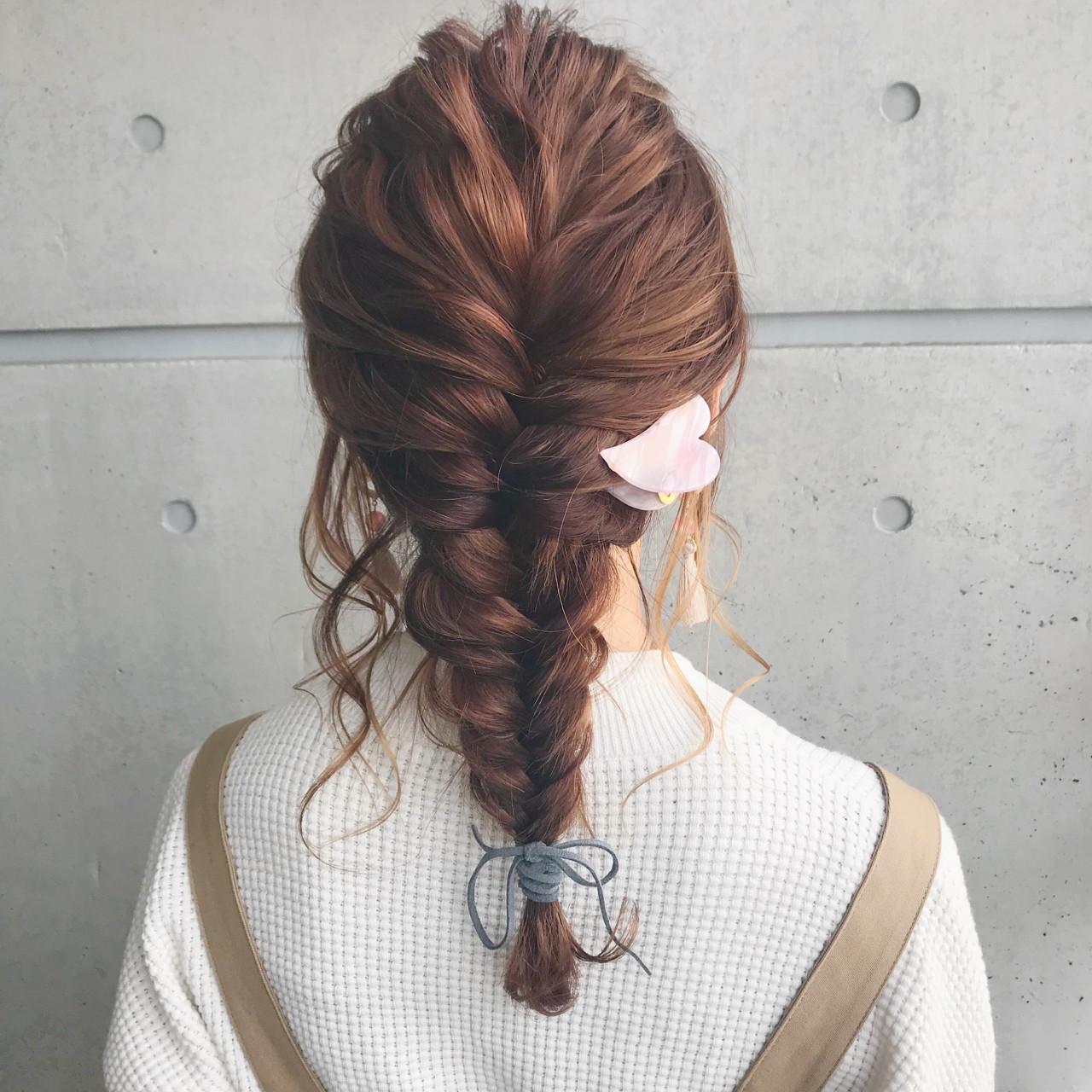 ヘアアレンジ ミディアム 結婚式 簡単ヘアアレンジ ヘアスタイルや髪型の写真・画像 | hironao murakami / Eight渋谷本店