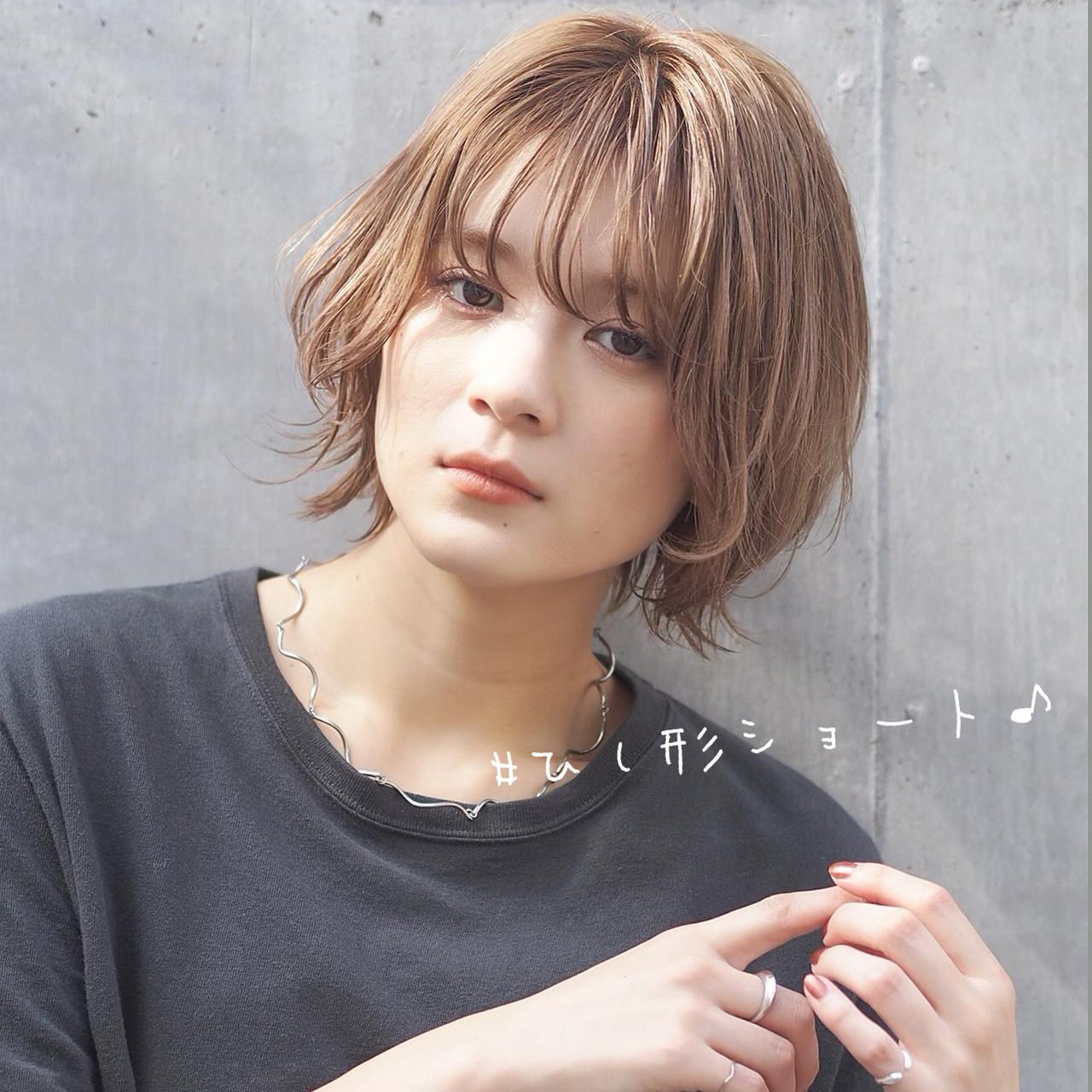 ミニボブ 切りっぱなしボブ ショートボブ ショートヘア ヘアスタイルや髪型の写真・画像 | Natsuko Kodama 児玉奈都子 / dydi