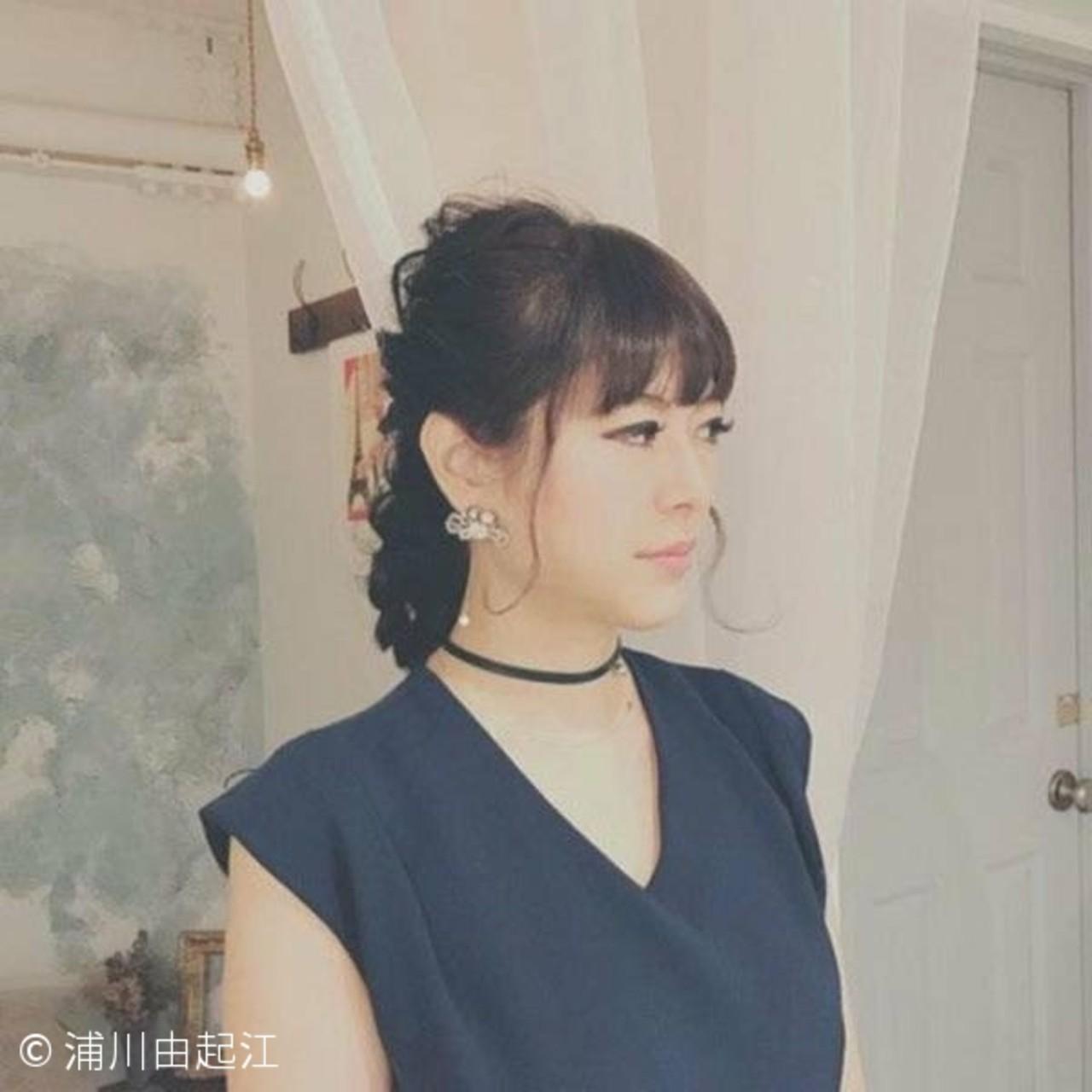 大人かわいい ロング ゆるふわ フェミニン ヘアスタイルや髪型の写真・画像 | 浦川由起江 / nanon