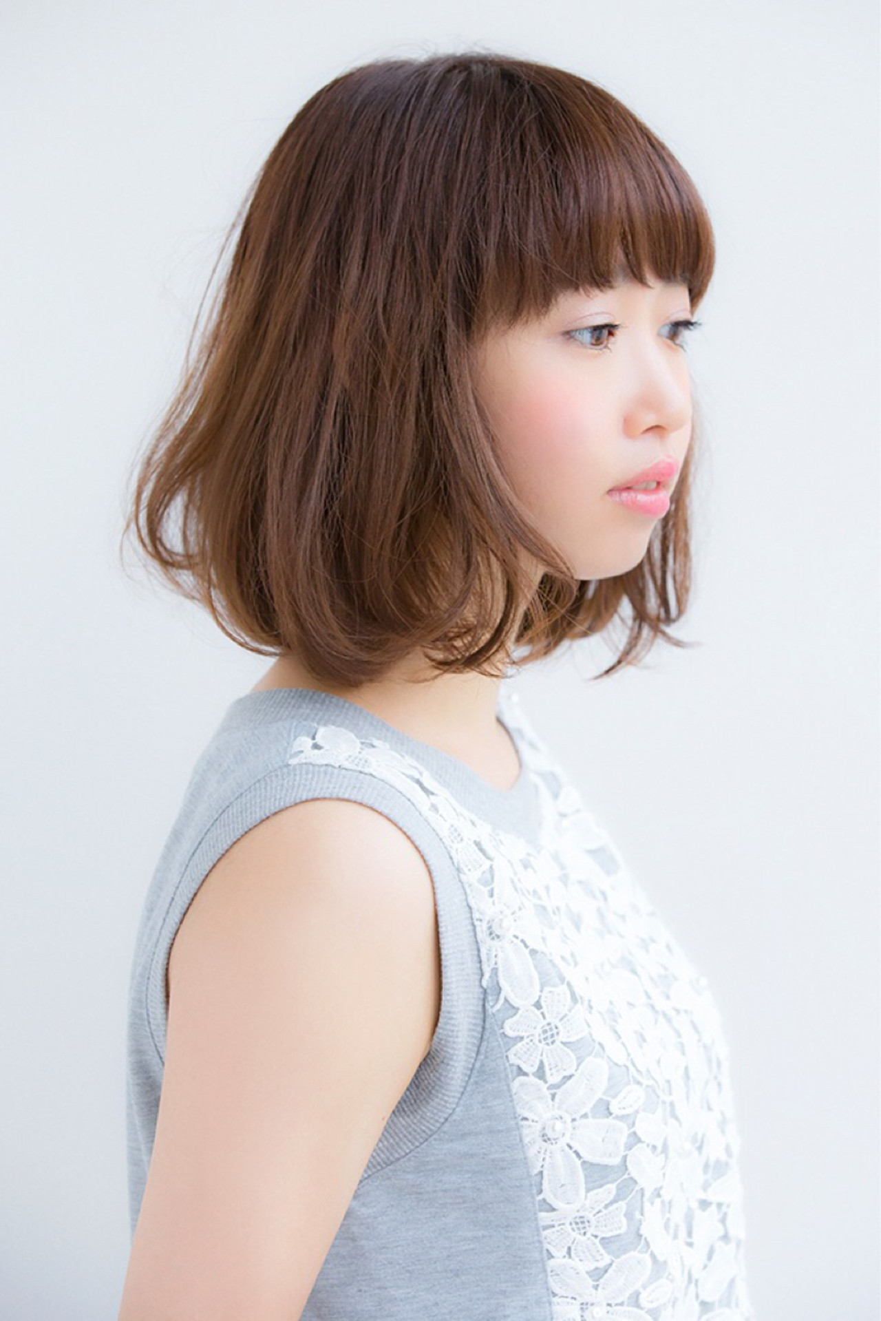 ナチュラル オフィス ヘアアレンジ デート ヘアスタイルや髪型の写真・画像 | 松下哲士 / GARDEN aoyama