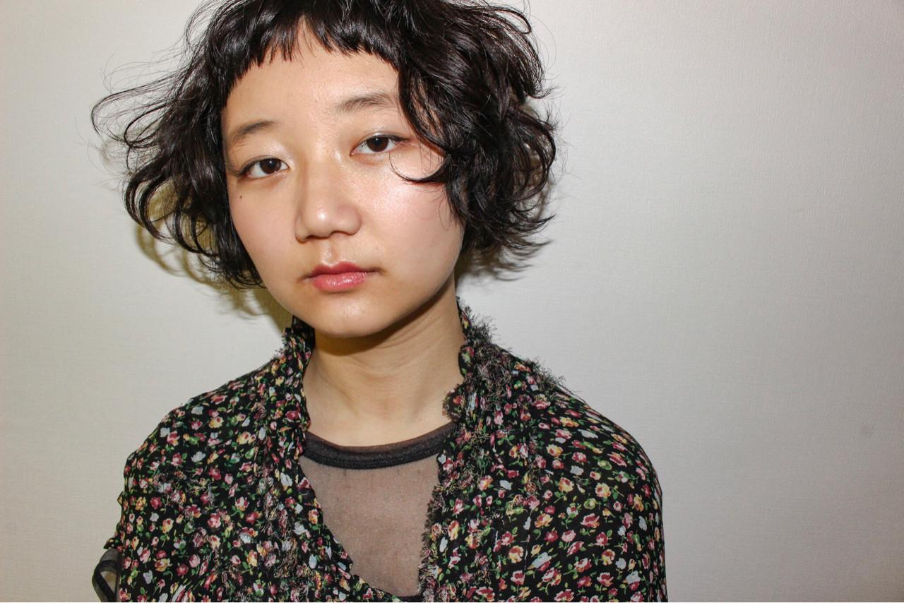 ニュアンス ストリート ナチュラル パーマ ヘアスタイルや髪型の写真・画像   竹原あやか / Rosetea Garden plus