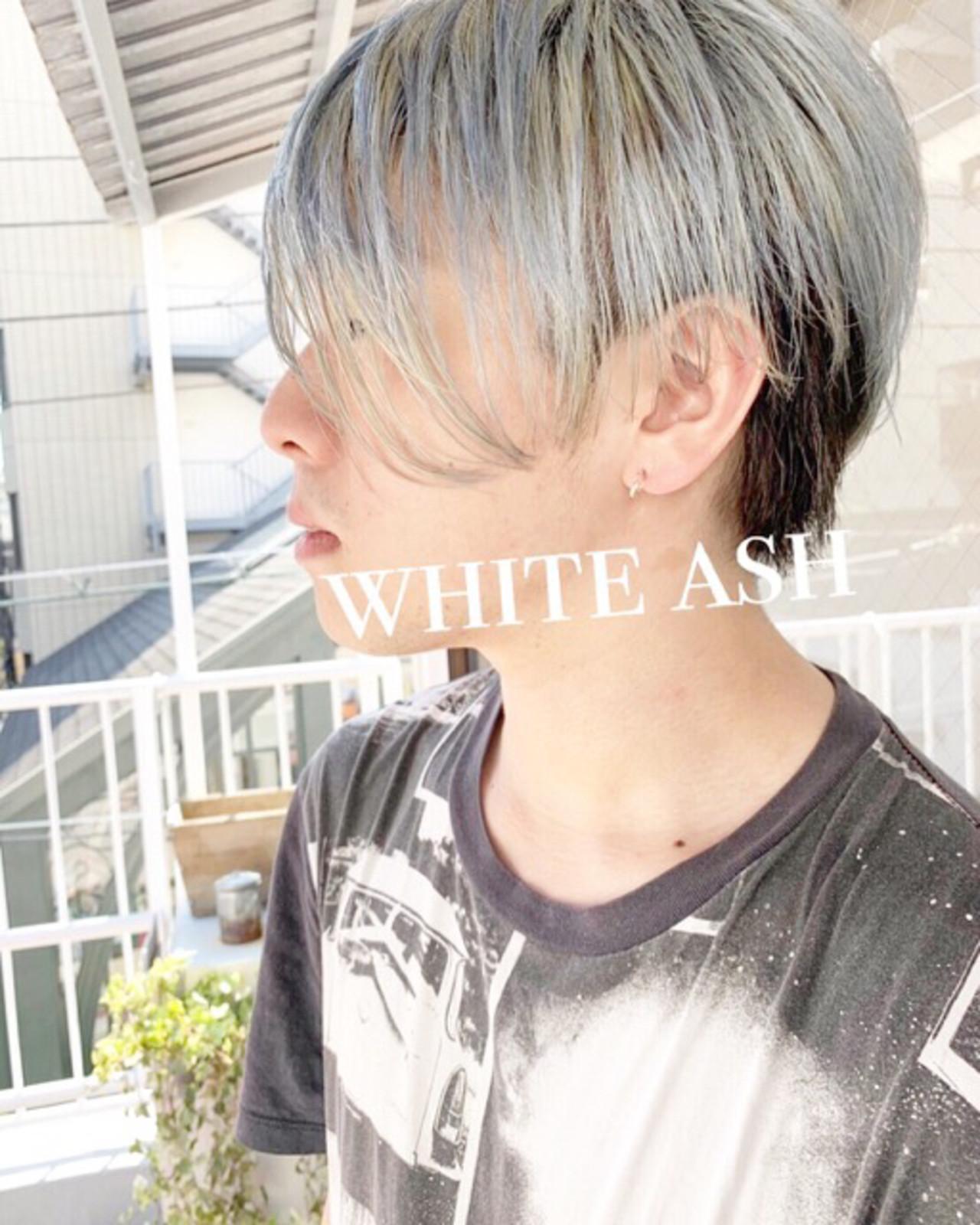 ストリート メンズショート メンズカット ショート ヘアスタイルや髪型の写真・画像 | COM PASS 太一 / COM PASS