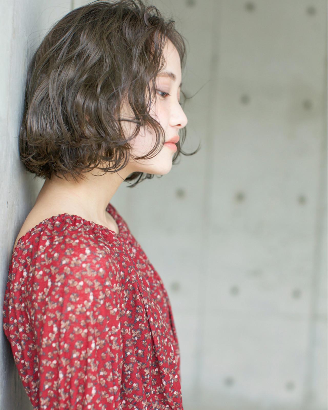 リラックス ボブ ゆるふわ 愛され ヘアスタイルや髪型の写真・画像 | 佐脇 正徳 / LOAVE AOYAMA(ローヴ アオヤマ)