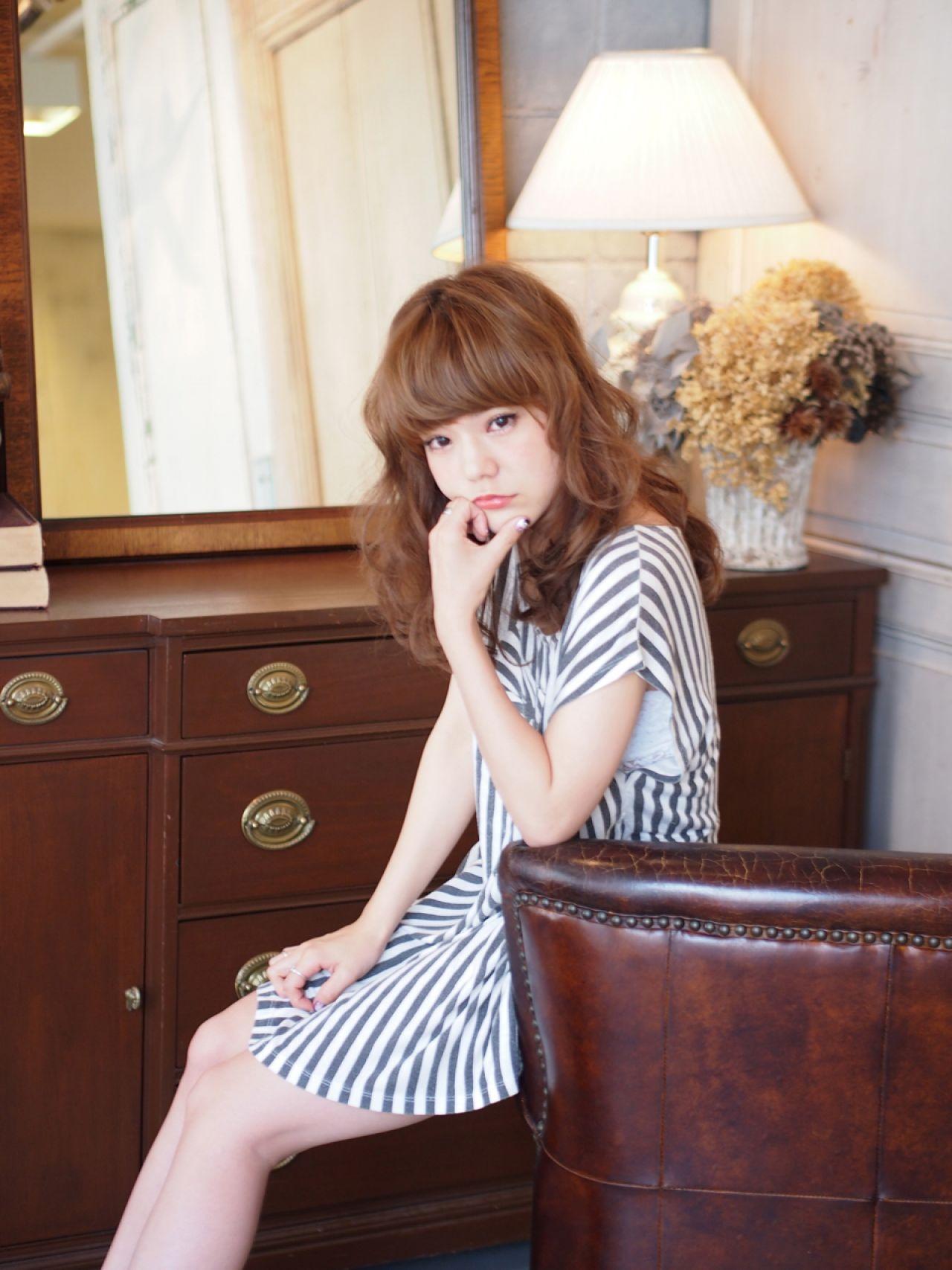 モテ髪 コンサバ 愛され 大人かわいいヘアスタイルや髪型の写真・画像