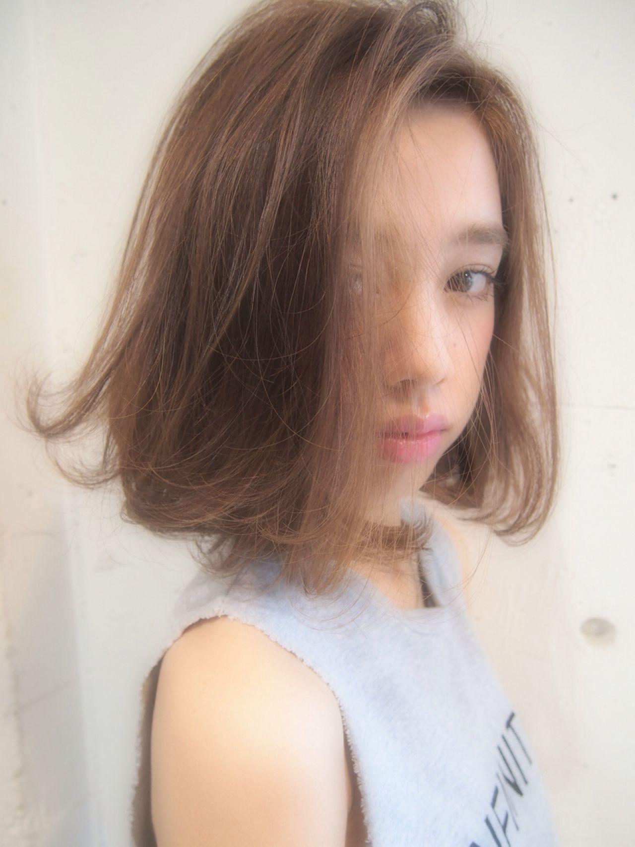 グラデーションカラー ストレート 秋 ストリート ヘアスタイルや髪型の写真・画像 | 【SHIMA】モチナガヤスヒロ / SHIMA daikanyama