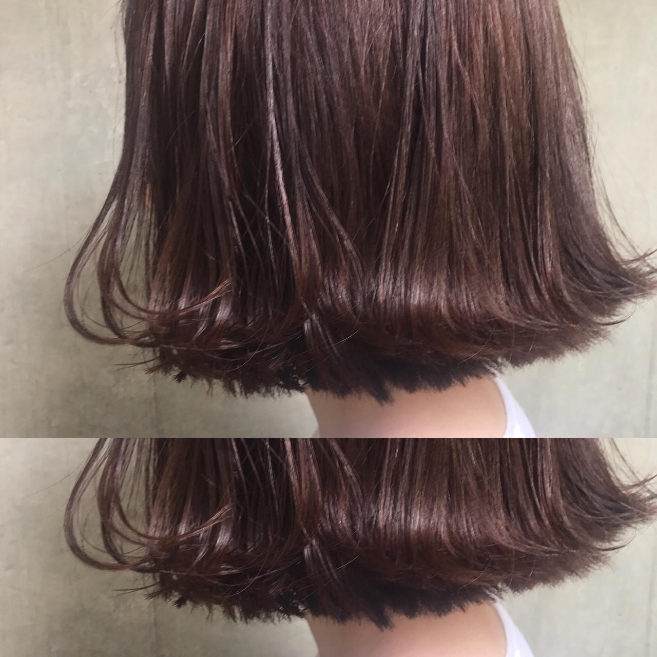 デート モード ニュアンス アッシュヘアスタイルや髪型の写真・画像