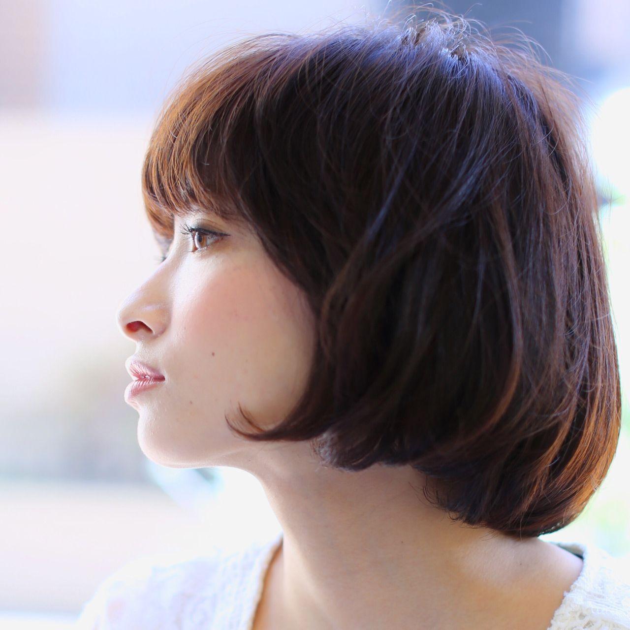 """おしゃれさんが選ぶのは、やっぱり""""暗髪""""♡ 今林 覚 / Digz hair"""