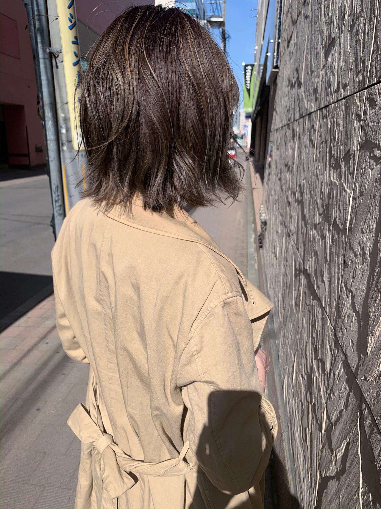 ショートボブ ボブ 切りっぱなしボブ アンニュイほつれヘアヘアスタイルや髪型の写真・画像