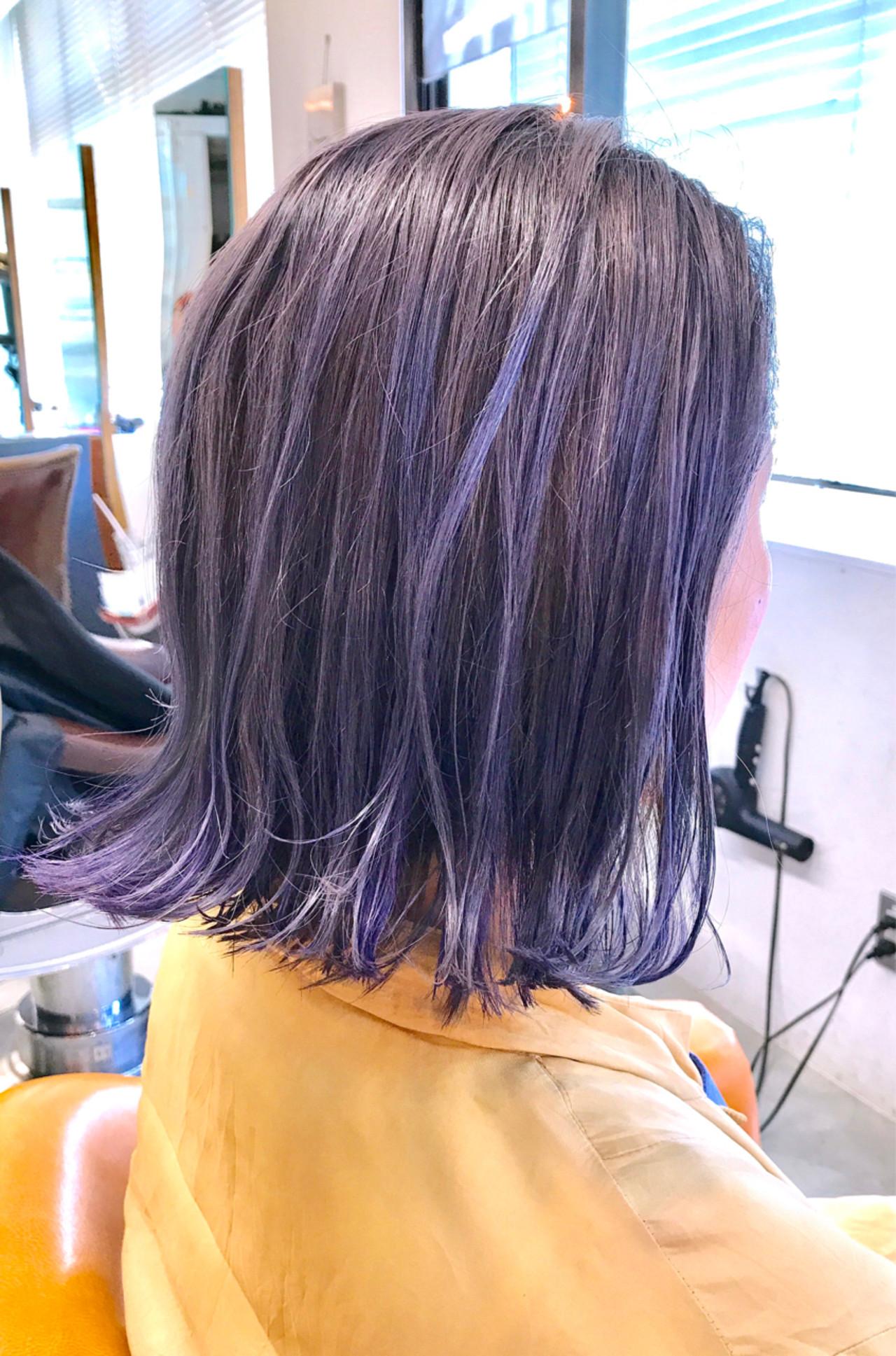 外国人風カラー インナーカラー ストリート グレージュ ヘアスタイルや髪型の写真・画像 | 大石 卓 / Ticro hair