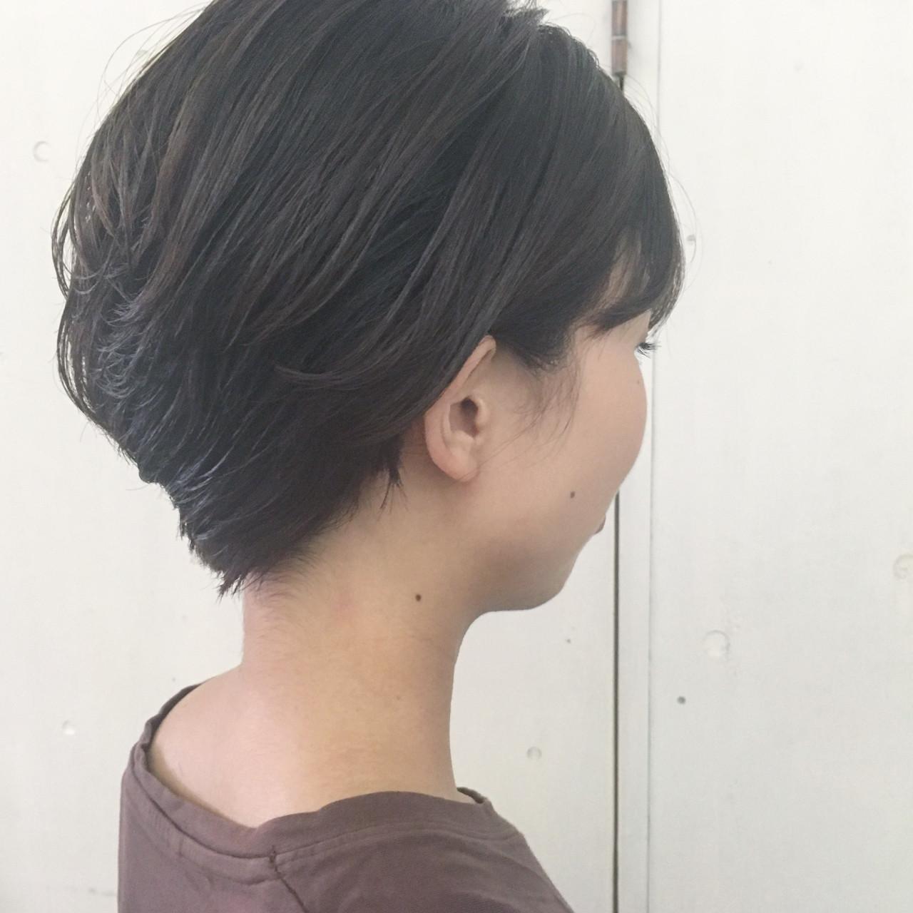 暗髪 大人かわいい ナチュラル ラフヘアスタイルや髪型の写真・画像