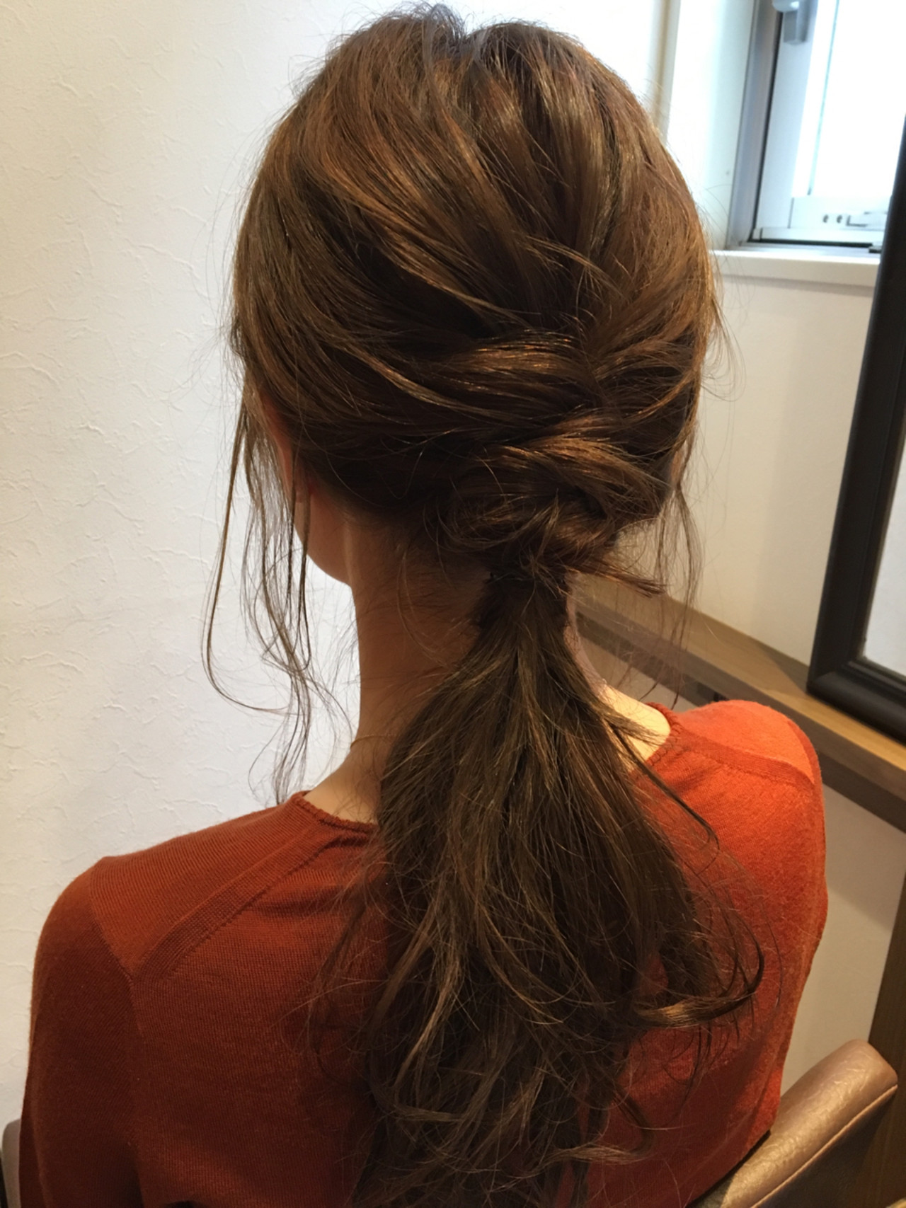 ヘアアレンジ パーマ ゆるふわ 大人女子 ヘアスタイルや髪型の写真・画像 | uchida ayano / enn