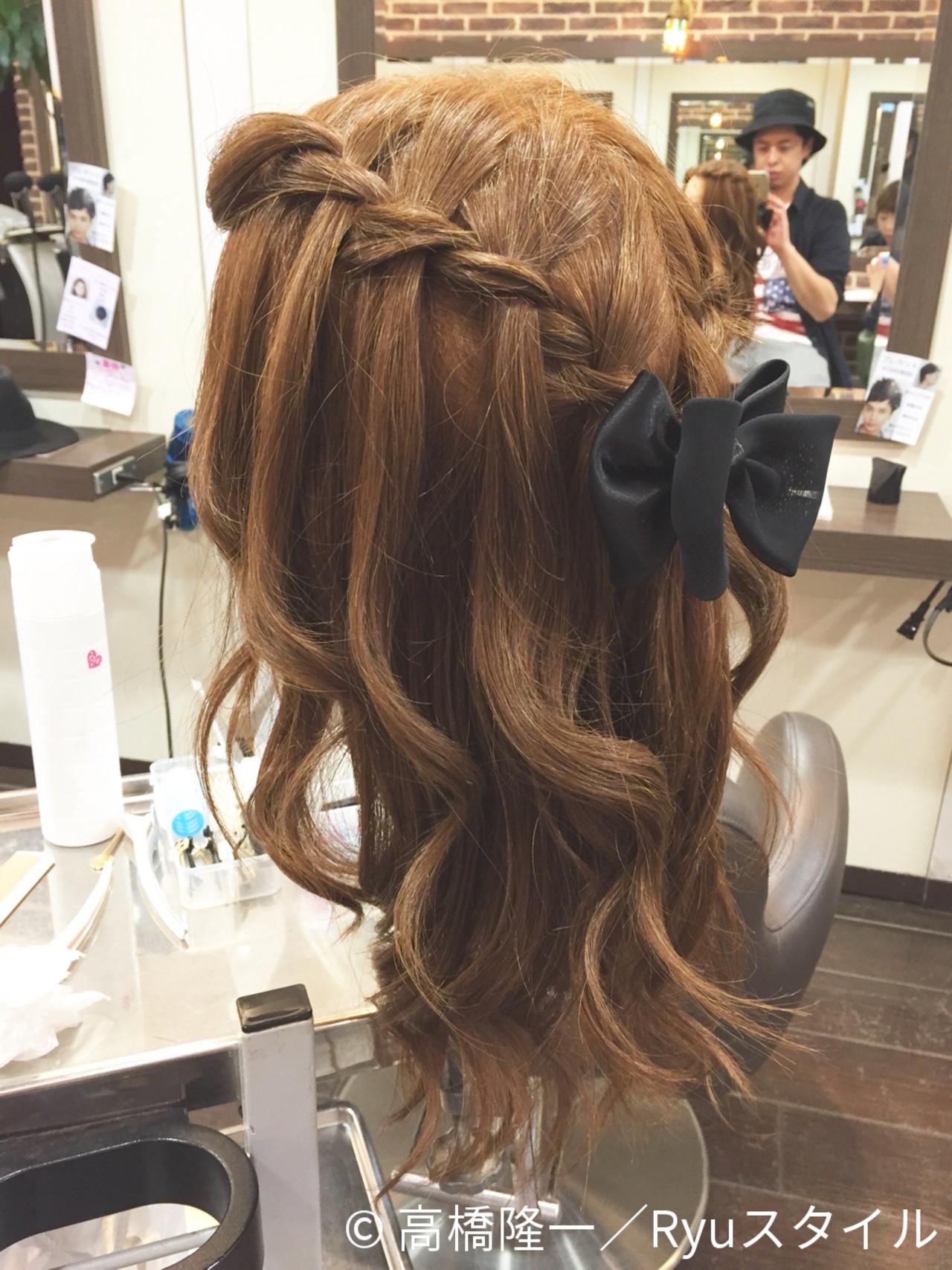 簡単ヘアアレンジ 大人かわいい ゆるふわ ハーフアップ ヘアスタイルや髪型の写真・画像 | 高橋隆一/Ryuスタイル / hair&make  bis       group by ZEST